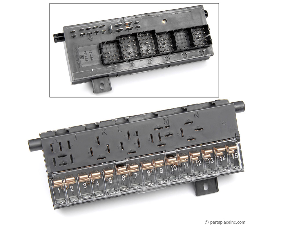 vw mk1 rabbit jetta scirocco fuse box - used - free tech help  parts place inc!