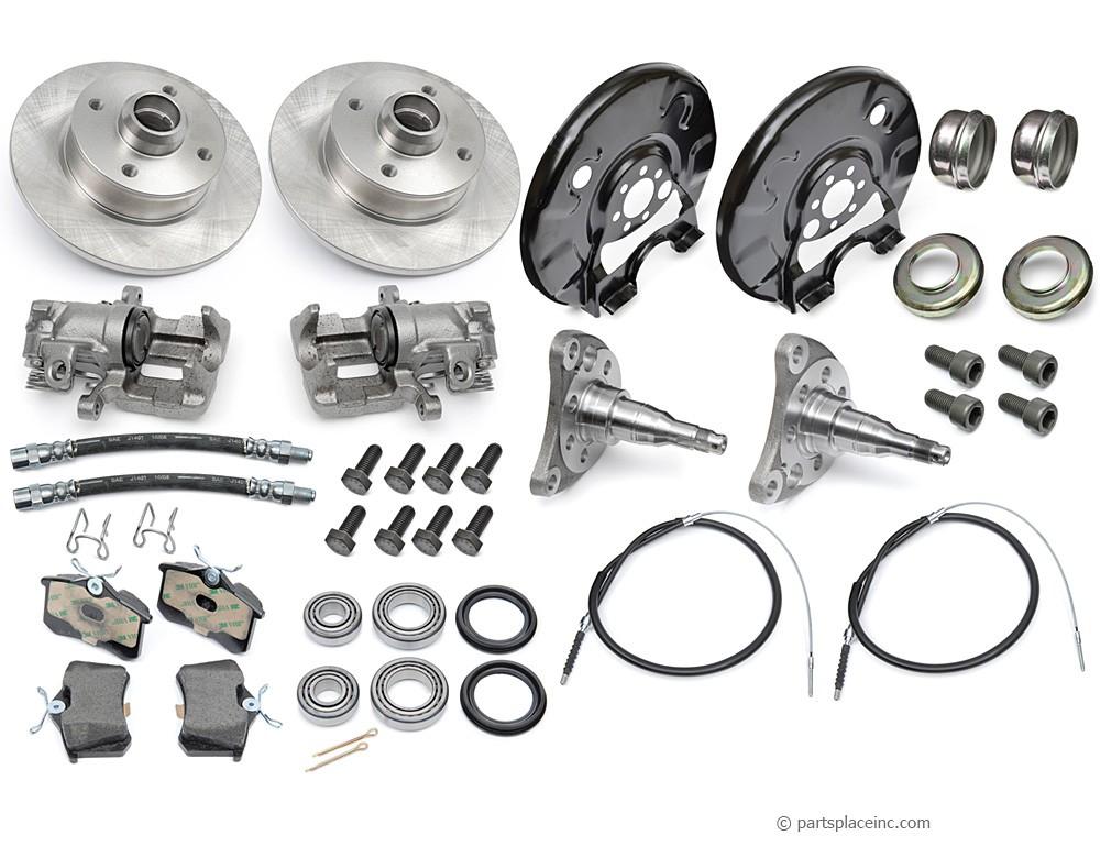 vw mk1 rear brake disc conversion kit