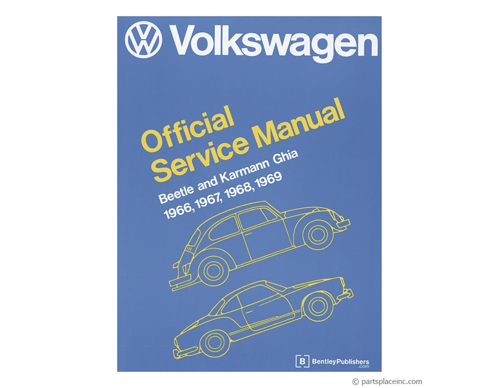 Beetle & Ghia Bentley Repair Manual