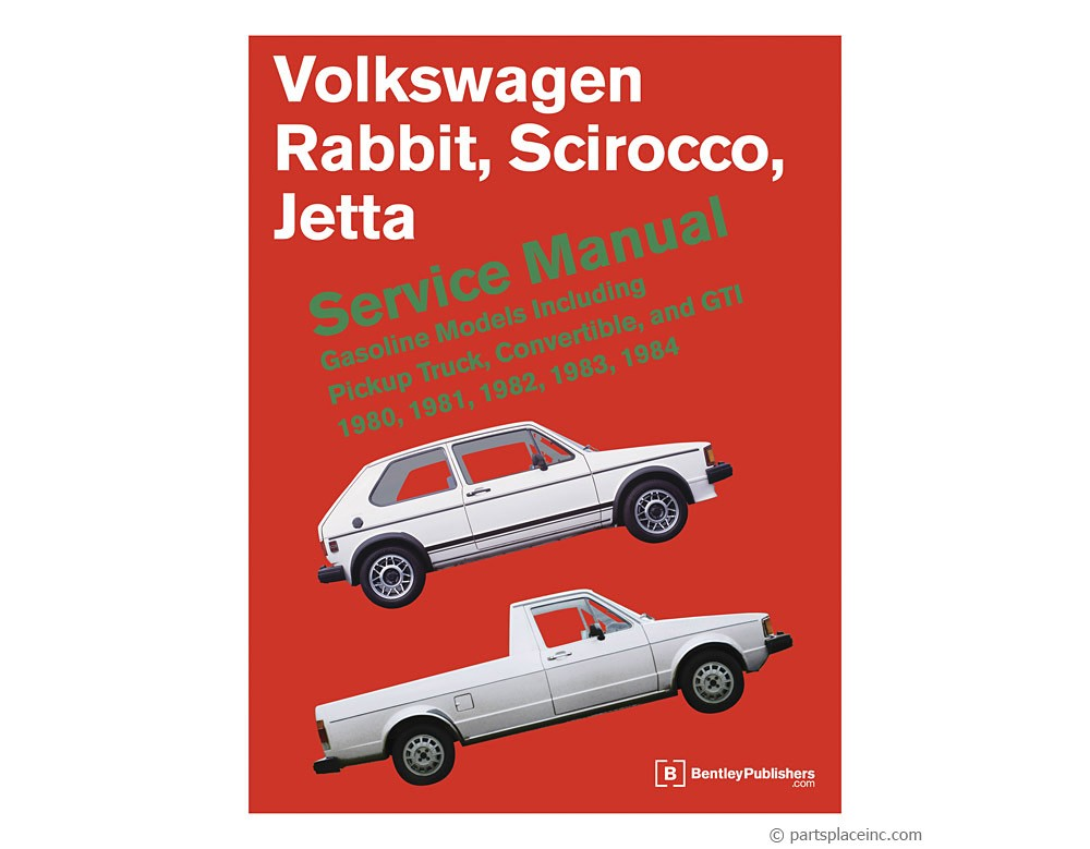 vw mk1 rabbit jetta scirocco bentley repair manual free tech help rh partsplaceinc com 2007 vw rabbit repair manual 2007 volkswagen rabbit service manual