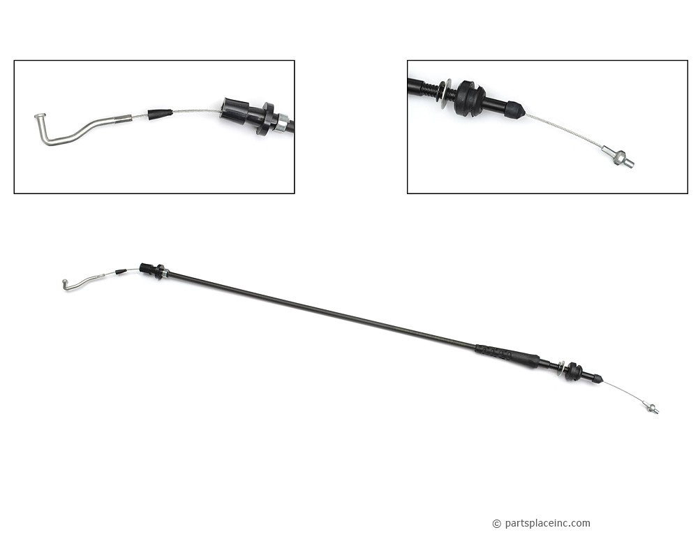 MK2 Gas Engine Throttle Cable