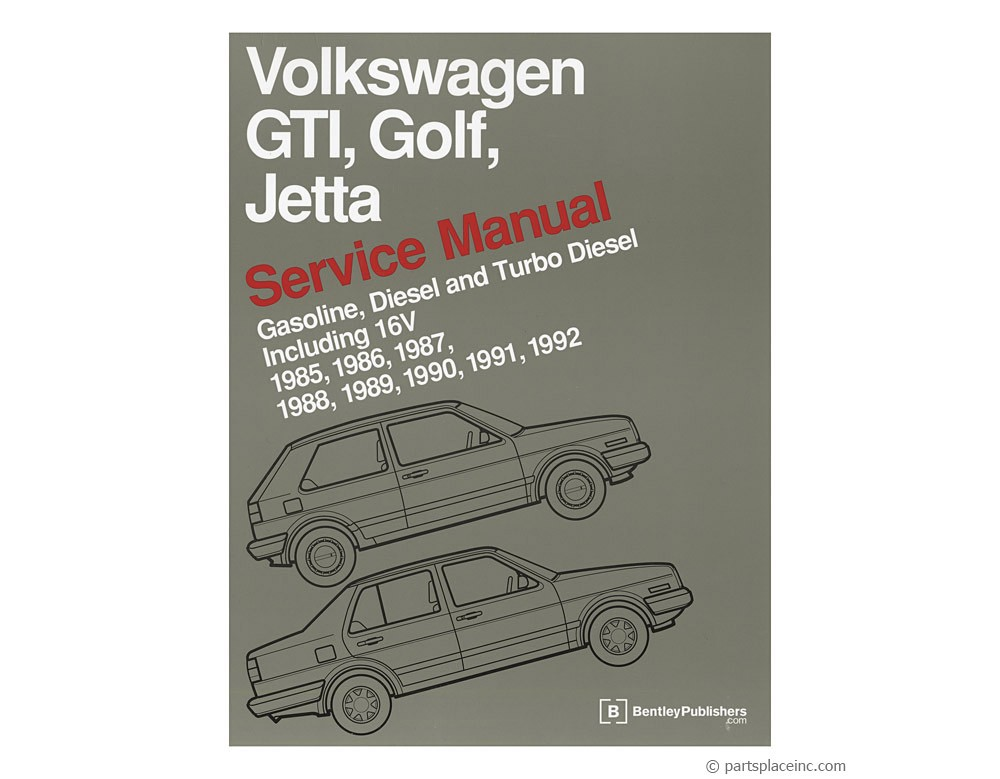 vw mk2 jetta golf bentley manual free tech help rh partsplaceinc com VW Golf MK3 VW Golf MK3