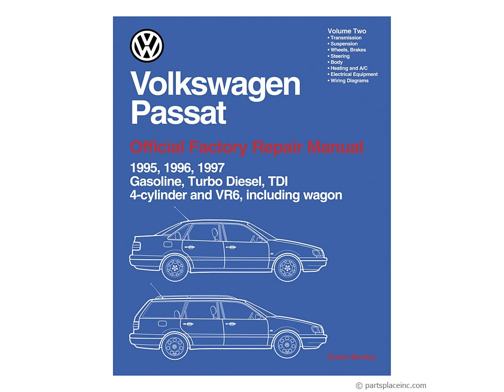 B4 Passat Bentley Repair Manual