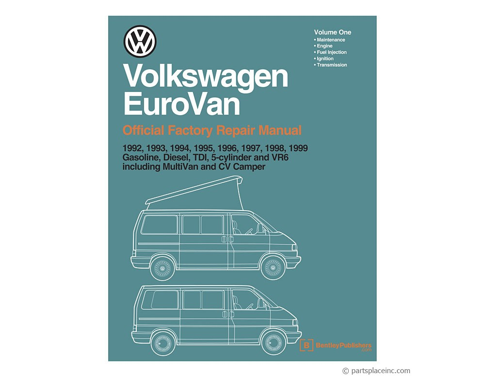 Vw Eurovan Bentley Repair Manual