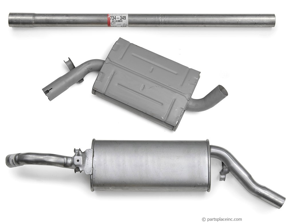 MK2 Golf 1.8L Exhaust System