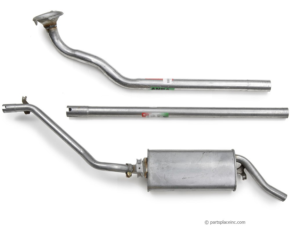MK2 Golf Diesel Exhaust System
