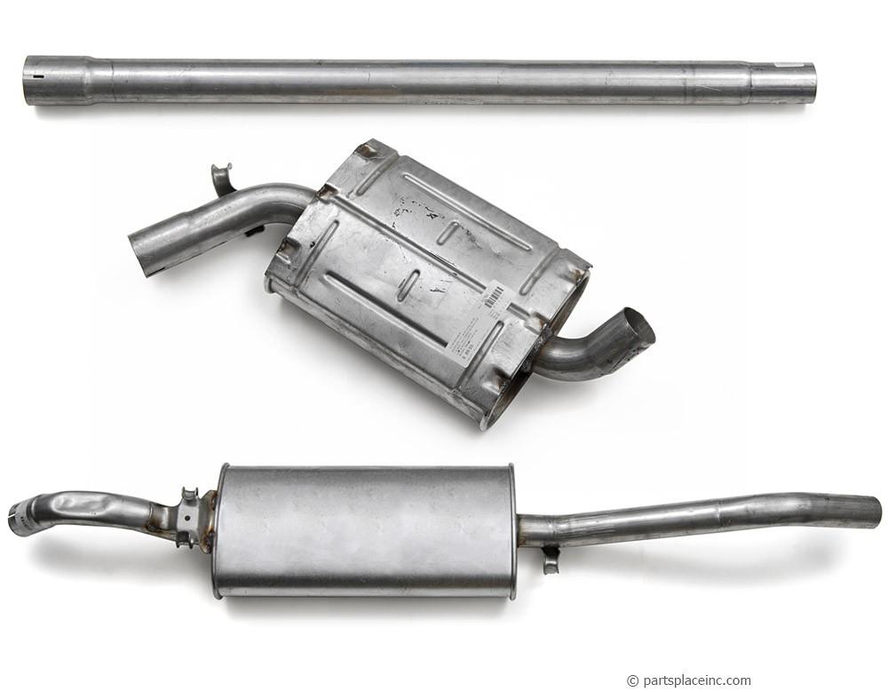 MK2 Jetta 1.8L 8V Exhaust System