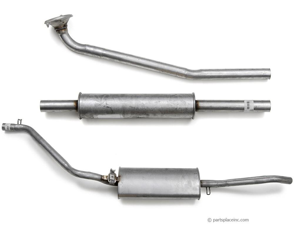 MK2 Jetta Diesel Exhaust System