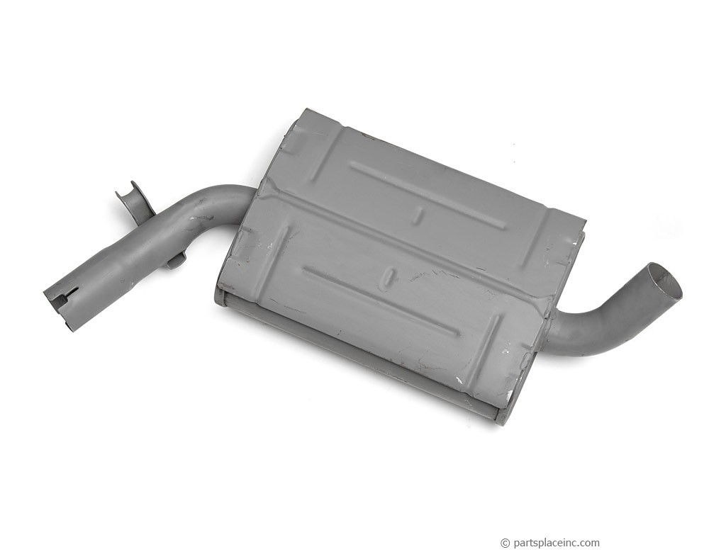 MK2 Golf 1.8L Center Muffler