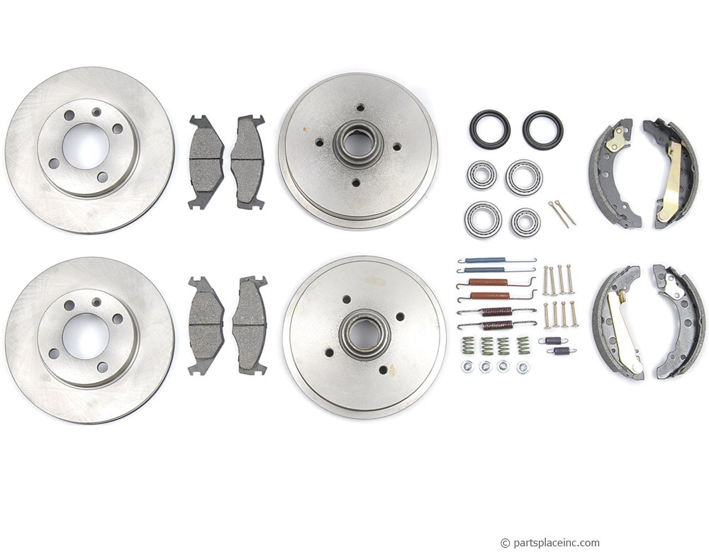 GTI Cabriolet and Scirocco Complete Brake Kit