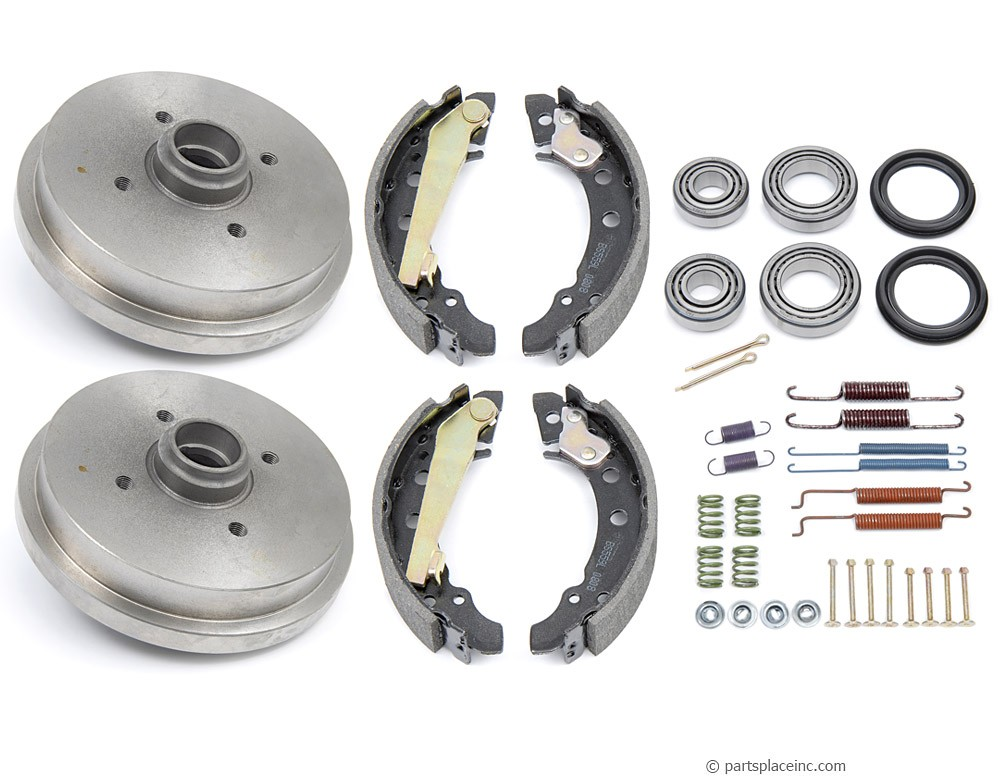 MK1 and MK2 180mm Rear Brake Drum Kit