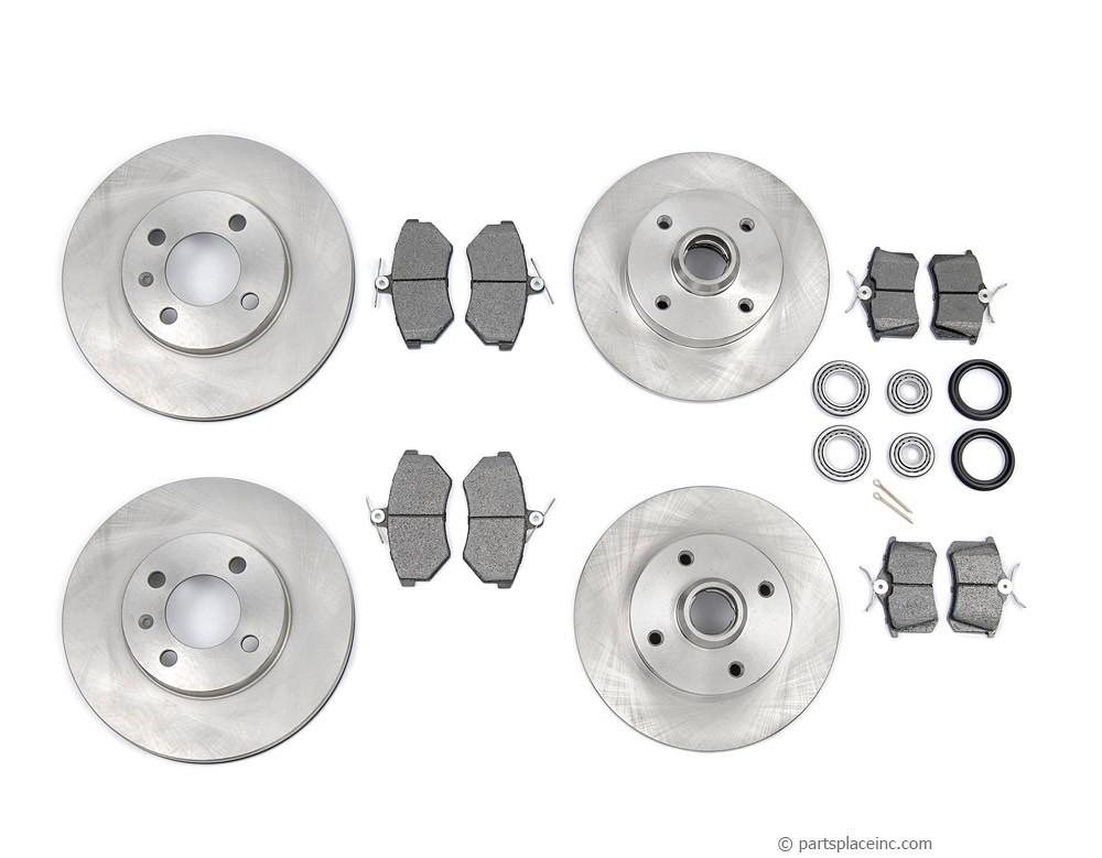 MK3 4 Wheel Disc Brake Kit