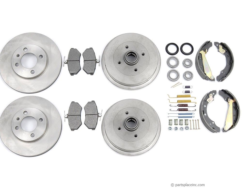 MK3 4cyl Complete Brake Kit