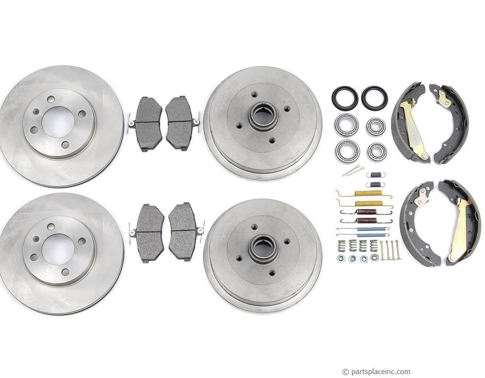 MK3 4cyl Complete Brake Kit
