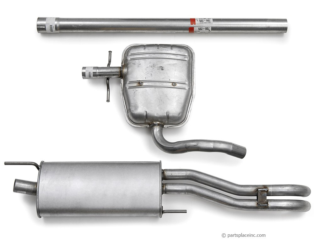 MK3 Jetta TDI Exhaust System