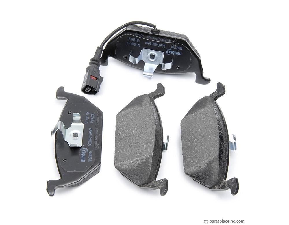 MK4 2.0L and TDI Front Brake Pads With Sensor