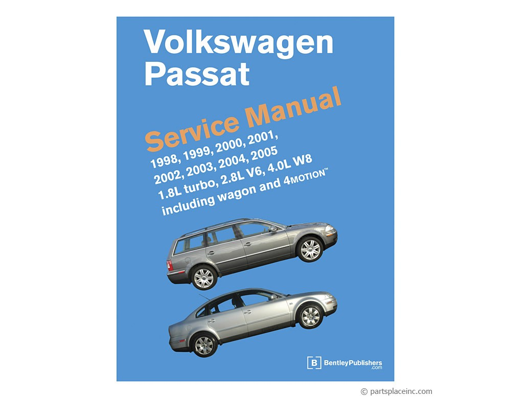 vw b5 passat bentley repair manual free tech help rh partsplaceinc com 2003 volkswagen passat glx owners manual 2004 passat wagon owners manual