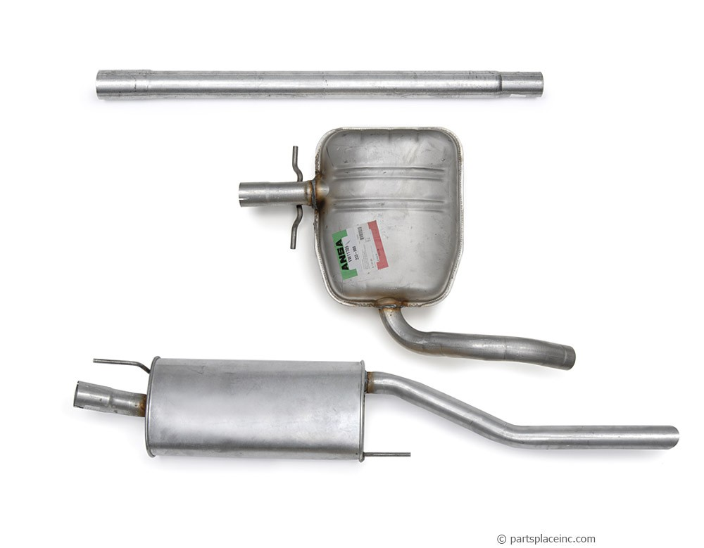 MK3 Jetta 2.0L Exhaust System