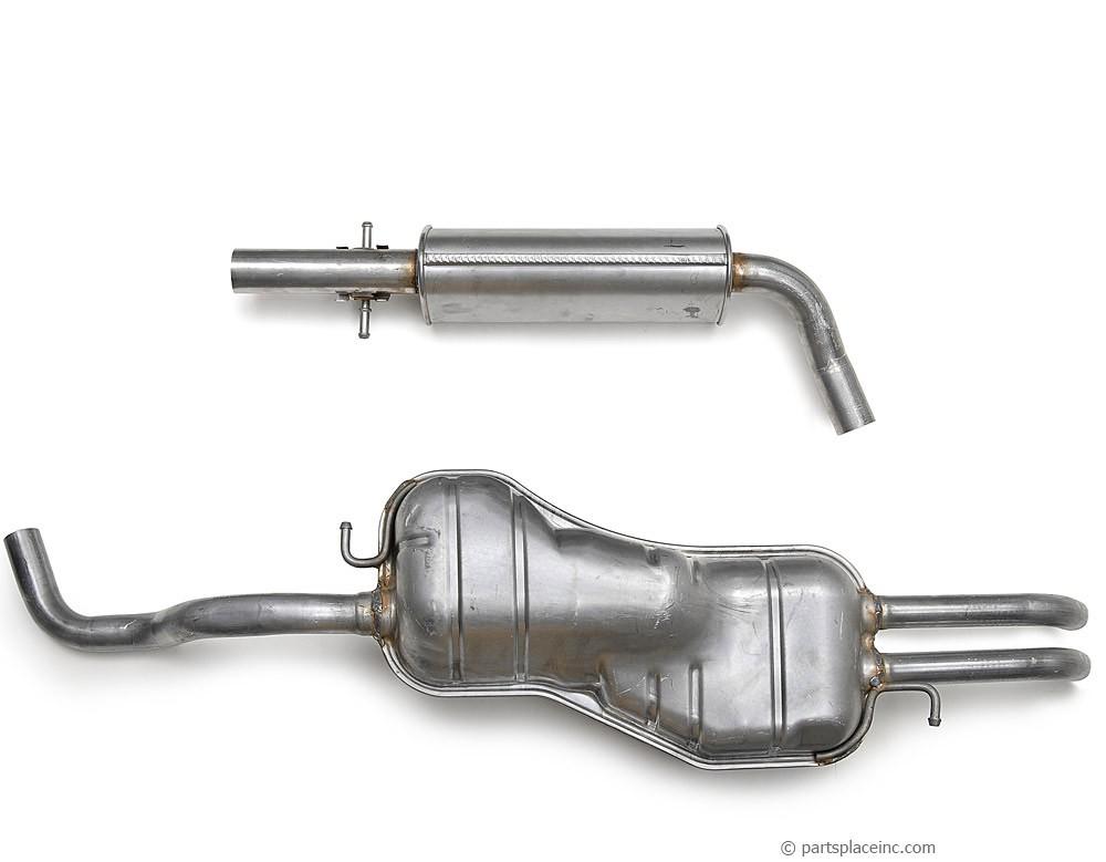 MK4 Jetta 2.0L Exhaust System