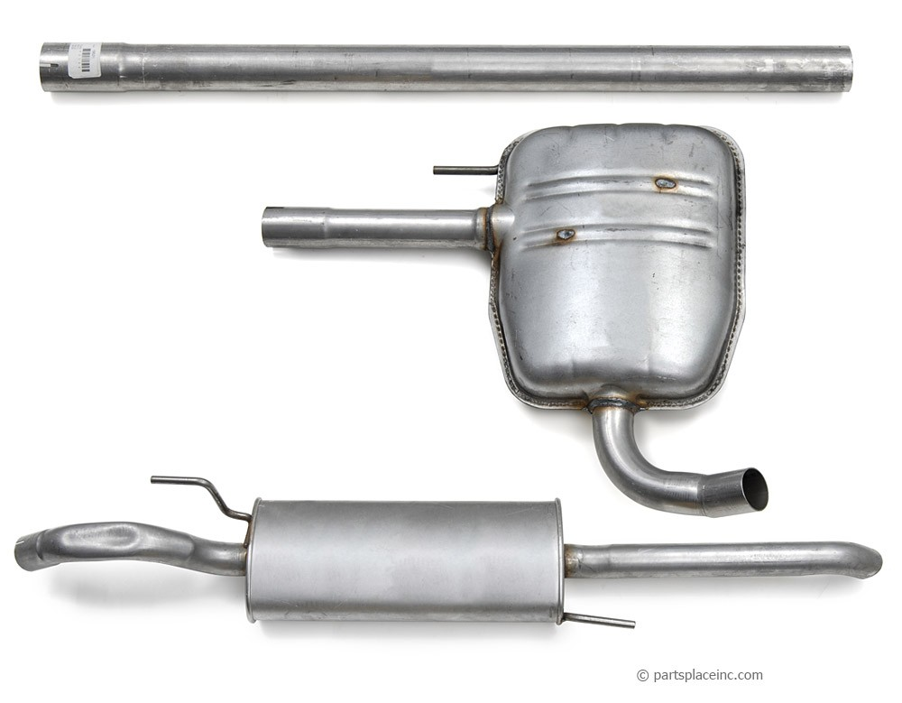 B4 Passat TDI Exhaust System
