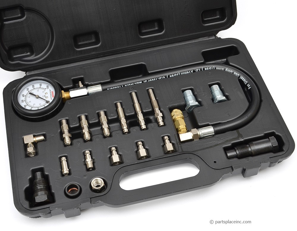 Diesel Compression Tester Set With Adapters