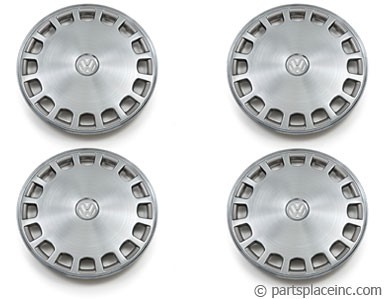Stainless Steel Hub Cap Set