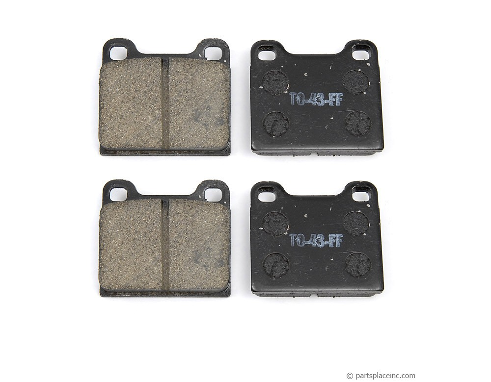 Type III and Type IV Front Brake Pads