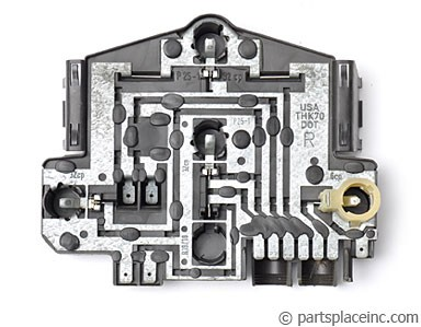 MK2 Jetta Passenger Side Tail Light Circuit Board