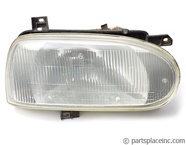 MK4 Golf & Cabrio Driver Side Headlight Assembly Used