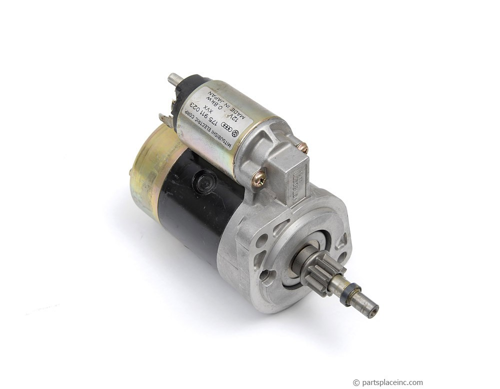 MK1 Gas Engine Mitsubishi Starter Motor - Manual Trans