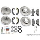MK1 and MK 2 Complete Brake Kit