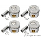 "TDI BEU/BJC/BXT/BEQ/28:B Piston Set - +.040""/1mm Oversize"