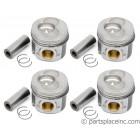 """TDI BEU/BJC/BXT/BEQ/28:B Piston Set - +.040""""/1mm Oversize"""