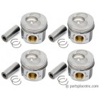 TDI S040 Over Size Piston Set