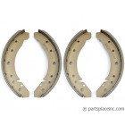 Standard Beetle Front Brake Shoe Set