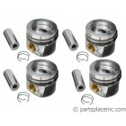 Common Rail TDI Industrial Engine Piston Set - Standard Size