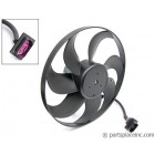 MK4 Jetta & Golf Driver Side Radiator Fan - 345mm