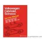 Cabriolet and Scirocco Bentley Manual