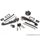 MK2 Golf Door Handle and Lock Set With Keys