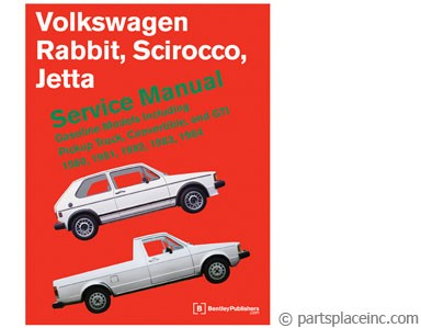 MK1 Rabbit Jetta Scirocco Bentley Repair Manual