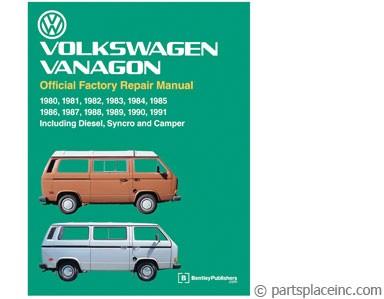 vw bus vanagon rear muffler free tech help rh partsplaceinc com VW Type 2 bentley vw vanagon repair manual pdf