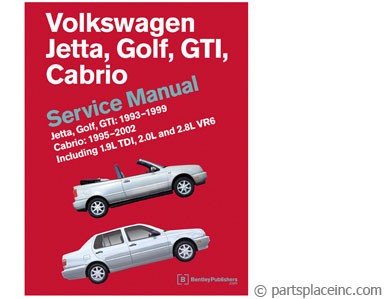MK3 Jetta & Golf Bentley Manual DVD