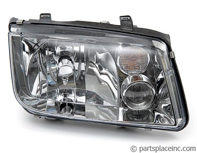 MK4 Jetta Passenger Side Headlight With Fog Lights