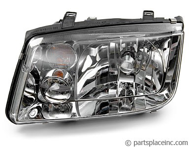MK4 Jetta Passenger Side Headlight Without Fog Lights