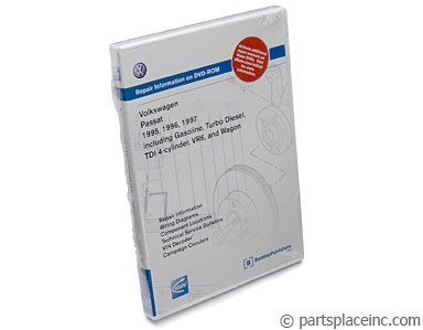 B4 Passat Bentley Repair Manual DVD