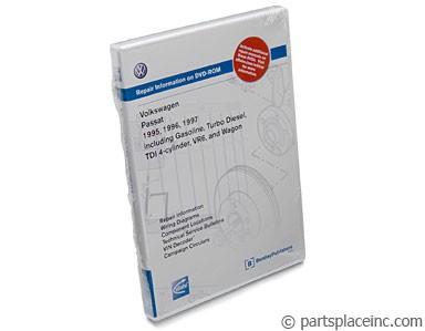 B4 Passat Bentley Repair Manual DVD