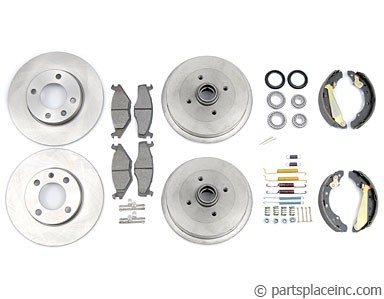 MK1 and MK2 200mm Drum Complete Brake Kit