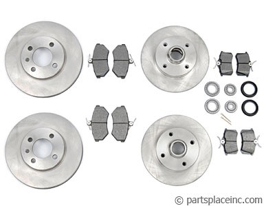 MK3 4 Wheel Disc Brake Kit