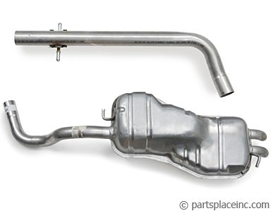 ALH TDI Exhaust System