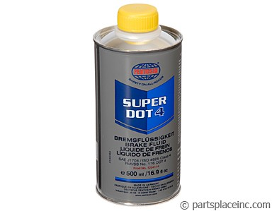 Pentosin Super Dot 4 Brake Fluid - 500ml